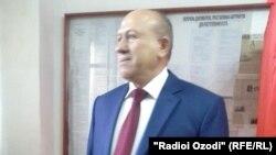 Аграрлық партия атынан сайлауға түскен Толиббек Бухориев.