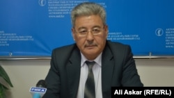 Председатель Актюбинского областного специализированного межрайонного суда Нурлан Султанов. Актобе, 6 октября 2016 года.