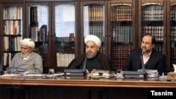 جلسه شورای عالی انقلاب فرهنگی.