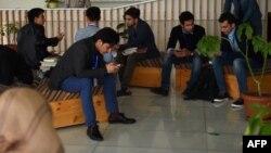 ارشیف، یو شمېر افغان محصلین