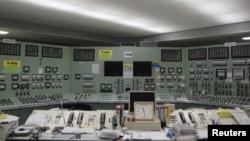 Dhomë kontrolli në reaktorin Fukushima Daiçi.