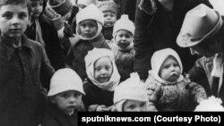 Детдомовцы блокадного Ленинграда