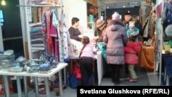 Ярмарка подарков к 8 Марта. Астана, 5 марта 2014 года.