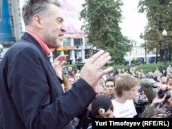 Артемий Троицкий - в поддержку Химкинского леса на митинге в Москве