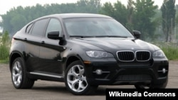 BMW X6 автомобили.