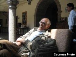 Александр Пятигорский в Перу, 2005. Фото Людмилы Пятигорской