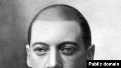 Николай Гумилей, гимназист старших классов.