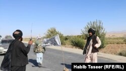 Авганистан- контролен пункт на автопатот Кабул-Кандахар
