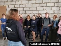 Учасники акції на підтримку Олега Сенцова. Мінськ, 13 липня 2019 року