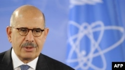 Muhammad el-Baradei leaves his predecessor with two main challenges -- North Korea and Iran.