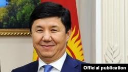 Қырғызстанның отставкаға кеткен премьері Темір Сариев.
