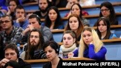 Korist samo za političke snage koje insistiraju na različitosti među narodima: Studenti FPN-a u Sarajevu, ilustrativna fotografija