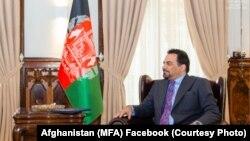 ادریس زمان سرپرست وزارت خارجه افغانستان