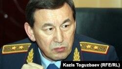 Қазақстан ішкі істер министрі Қалмұханбет Қасымов. Жаңаөзен, 18 желтоқсан 2011 жыл.