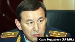 Қазақстанның ішкі істер министрі Қалмұханбет Қасымов. 18 желтоқсан, 2011 жыл.