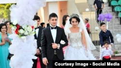 File photo of a wedding in Tajikistan.