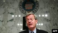 Макс Бокус, председатель комитета по финансам сената США.