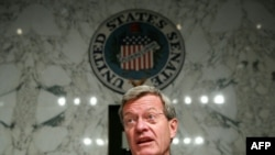 U.S. Senate Finance Committee Chairman Max Baucus (Democrat-Montana)
