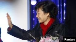 Fituesja e zgjedhjeve presidenciale në Korenë Jugore, Park Geun-hye, 19 dhjetor, 2012