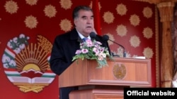 Tojikiston prezidenti Imomali Rahmon.