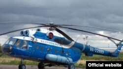 Одна из машин вертолетного парка «Газпромавиа»