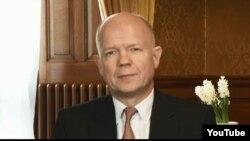 Министр иностранных дел Великобритании Уильям Хейг.