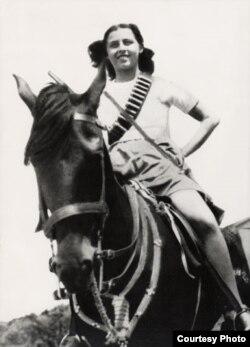 Сара Бэрман у Палестыне