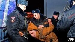 Затримання в Москві, січень 2016 року