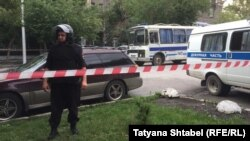 Полиция блокирует штаб Навального в Новосибирске