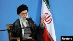 Eýranyň ýokary dini lideri Aýatollah Ali Hameneýi.
