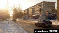Вуліца Каліноўскага на ўскрайку Магілёва ў Казіміраўцы