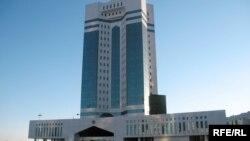 Здание правительства в Астане.