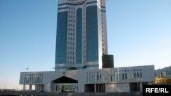 Үкімет үйі. Астана. (Көрнекі сурет).