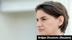 Српската премиерка Ана Брнабиќ