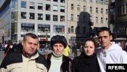 Imigranţi moldoveni la Praga: familia Cichir-Guţu