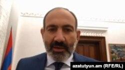Премьер-министр Армении Никол Пашинян, октябрь 2018 г.