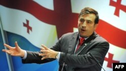 "Mikheil Saakashvili said that ongoing standoff as ""not the classical democratic model,"" and as a process of ""political cleansing"" that will pave the way for ""putting everything in its place."""