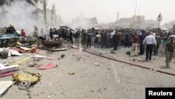 İraq, Bağdad şeerinde patlavlarnıñ biri yüz bergen yer, 2016 senesi, iyün 9