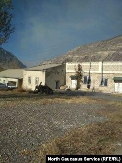 Школа в дагестанском селе Рахата