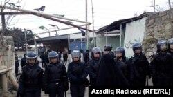 Спецоперация в поселке Нардаран