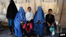 Ауғандық босқындар. Көрнекі сурет.