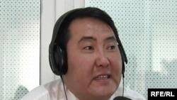 Nurlan Motuev speaks to RFE/RL's Kyrgyz Service