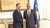 Kosovo: Richard Grenell and Hashim Thaçi