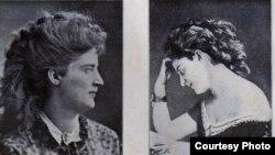Elena Racoviță, născută Dönniges (Fotografii din 1865, 1869)