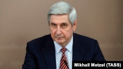Russian State Duma deputy speaker Ivan Melnikov (file photo)