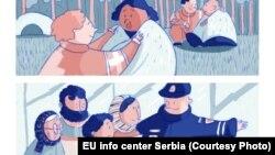 Neke od ilustracija stripa