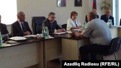 Hüseynqulu Bağırov Astarada vətəndaşları qəbul edir- 29 may 2015