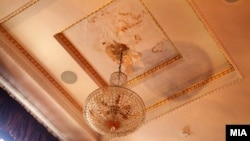 Прокиснал кровот во објектот на Македонски народен театар (МНТ).