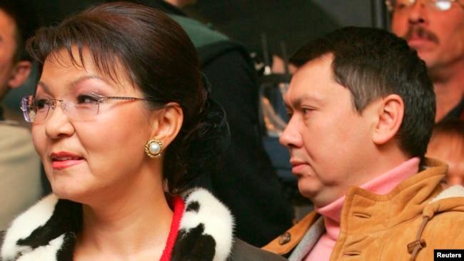 Дарига Назарбаева. старшая дочь президента Казахстана. и Рахат Алиев, ее супруг.