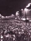9 octombrie 1989. Leipzig, zeci de oameni manifestează împotriva dictaturii comuniste. FAB/CLH/ - RP1DRILQXFAA